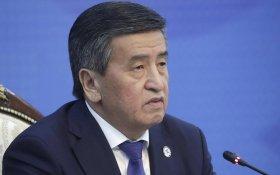 «Не хочу крови». Президент Киргизии подал в отставку
