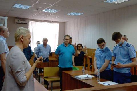 Платошкин приговорен к 5 годам условно «за склонение к беспорядкам»
