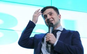 Зеленский победил на президентских выборах на Украине. В России рады?