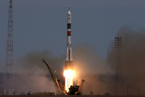 С Байконура стартовал «Союз» с первым сокращенным экипажем МКС