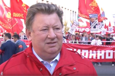 Владимир Кашин о пенсионной реформе: Борьба будет продолжаться