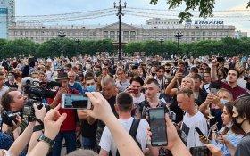 В КПРФ заявили, что у каждого, кто выходит на акции в Хабаровске, есть причина с негодованием относиться к власти