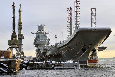 Восстановление авианосца «Адмирал Кузнецов» откладывается на годы