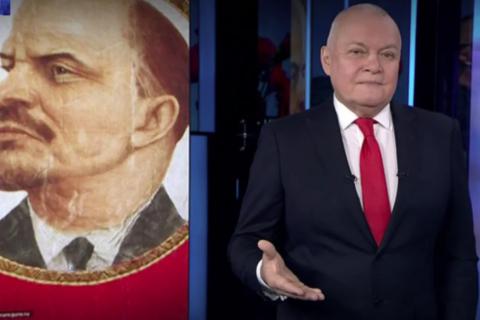 Главный проправительственный пропагандист призвал заменить памятники Ленину памятниками Краснову и Колчаку