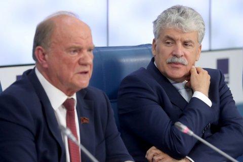 Геннадий Зюганов в Верховном суде сравнил недопуск Грудинина на выборы с расстрелом Белого дома в 1993 году
