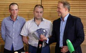 ДНР и ЛНР в одностороннем порядке передали Украине четырех пленных