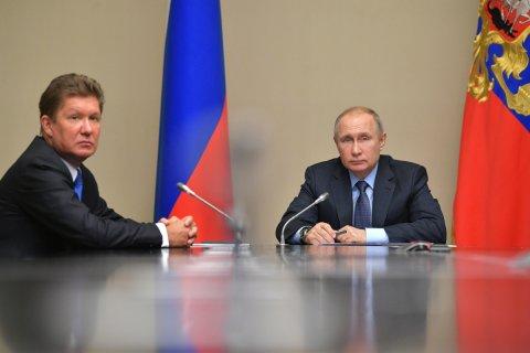 Из-за слухов об отставке Миллера акции «Газпрома» резко выросли