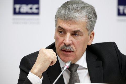 Кремль потребовал от центральных каналов поместить Грудинина в информационный вакуум