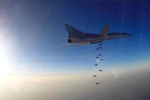 Российские бомбардировщики нанесли новый удар по террористам в Сирии