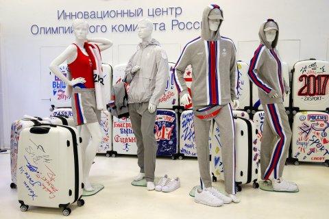 Компания дочери «завхоза» ФСБ представила новую олимпийскую форму. Одежду сшили в Турции, а обувь заказали у «Адидас»
