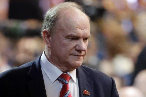 Геннадий Зюганов настаивает на принятии решительных мер по борьбе с кризисом