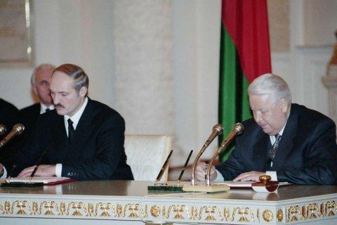 Лукашенко поздравил Путина, народы России и Белоруссии с Днем единения
