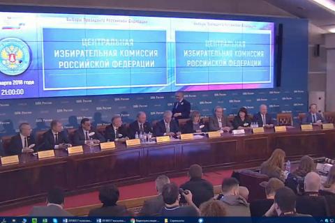 Появились предварительные данные по результатам выборов Президента РФ 2018 года. Есть неожиданности