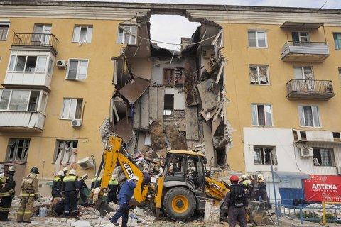 В Волгограде обрушился подъезд жилого дома