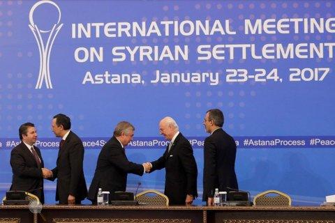В Астане заложены основы политического урегулирования в Сирии