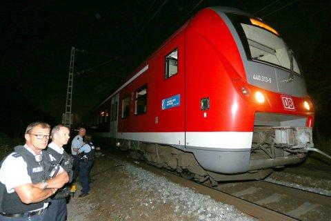 В Германии в поезде террорист зарубил топором 15 человек