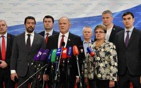 Геннадий Зюганов:  Информационная война против Левченко основана на клевете, насилии и подтасовках