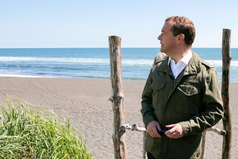 В аппарате правительства объяснили исчезновение Медведева