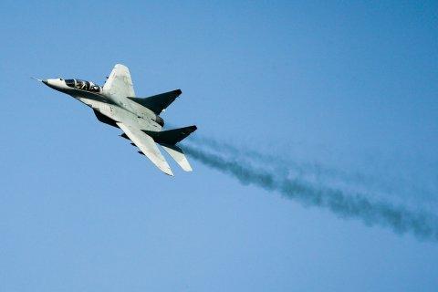 В Подмосковье разбился истребитель МиГ-29