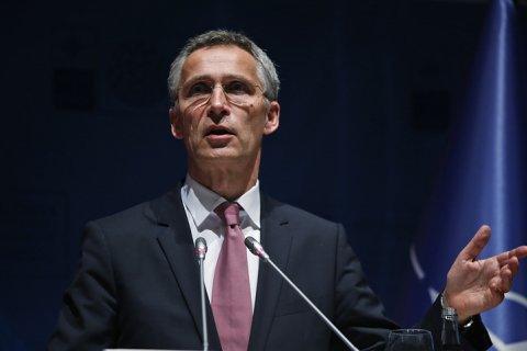 Столтенберг: НАТО стремится избежать конфликта с Россией, наращивая оборону