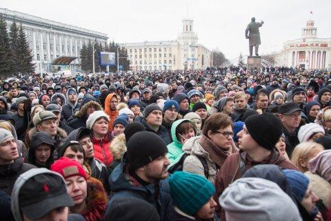 Жители Кузбасса готовят массовый митинг против главы парламента Амана Тулеева