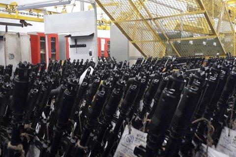Армия впервые за 30 лет получила новые автоматы