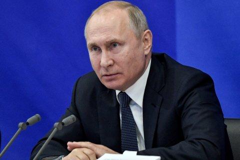 ВЦИОМ зафиксировал снижение рейтинга доверия Владимиру Путину