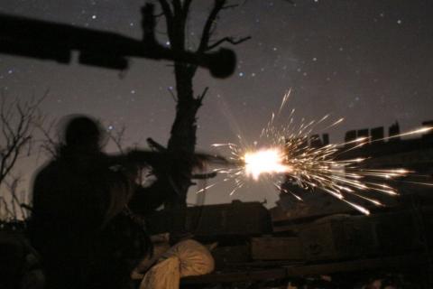 На Пасху в Донбассе продолжались перестрелки