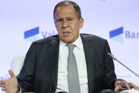 Лавров заявил, что Россия прекратит общаться с Европой