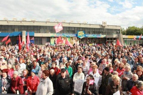 В Самаре пенсионеры пригрозили бойкотом президентских выборов, если Меркушкин не уйдет в отставку