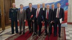 Брифинг по итогам первого заседания фракции КПРФ в Государственной Думе VIII созыва (07.10.2021 г.)