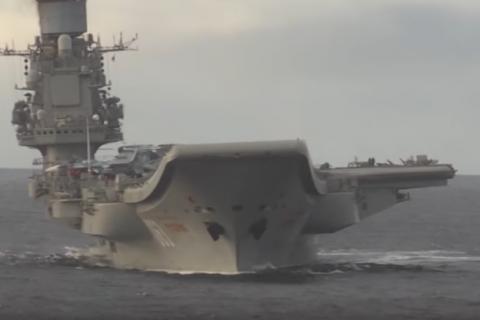 Россия потратила 7,5 миллиарда рублей на сирийский поход авианесущего крейсера «Адмирал Кузнецов»