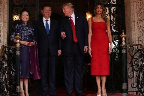 Американо-китайский саммит: внуки Трампа читают стихи на китайском