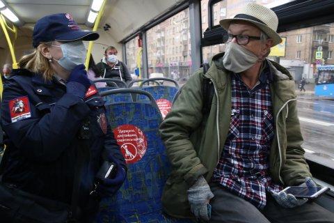 Более 66 тысяч человек оштрафовали в Москве с начала сентября за отсутствие масок