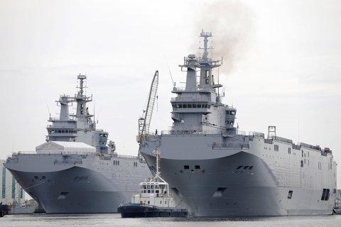 Россия потратит 100 млрд рублей на постройку первых двух десантных вертолетоносцев