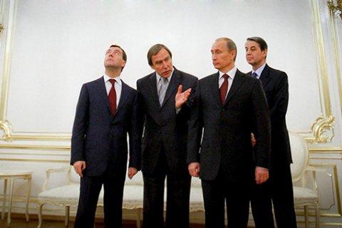 Путин наградил Ролдугина и олигархов орденами
