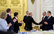 Владимир Путин на заседании Госсовета поздравил Геннадия Зюганова с юбилеем