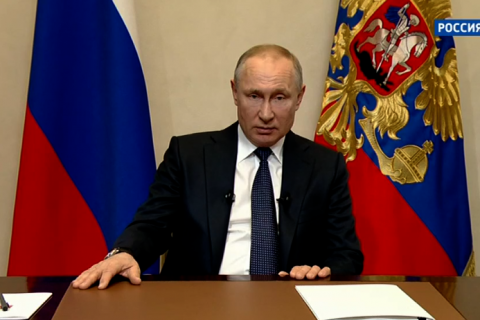 Владимир Путин в обращении к нации по ситуации с коронавирусом объявил следующую неделю выходной. Подробности