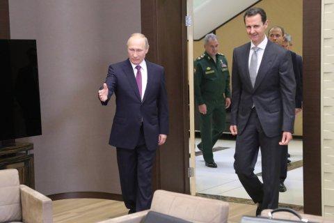 Путин на встрече с Президентом Сирии Асадом заявил о скорой победе над терроризмом в Сирии