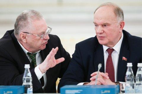 В КПРФ и ЛДПР прокомментировали сообщения о желании Кремля наказать партии за победу на выборах