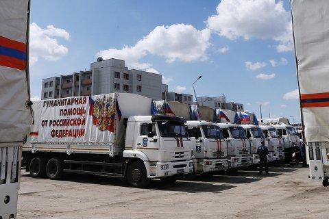 Песков: Россия не откажется от гуманитарной помощи жителям Донбасса, но помощь «перераспределит»