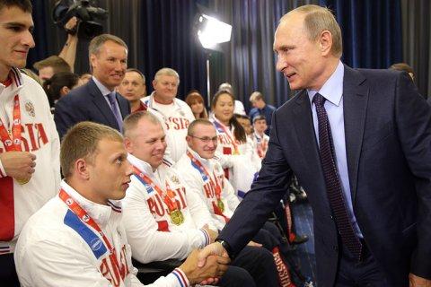 Путин пообещал провести собственную Паралимпиаду