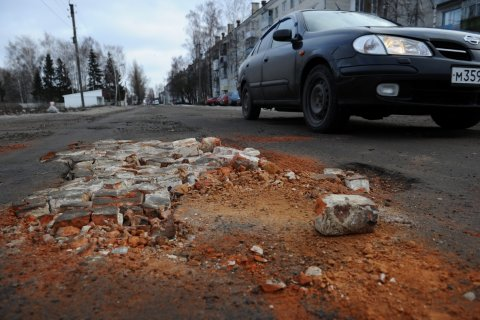 Минтранс: 90% федеральных трасс в России некачественные