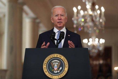 Байден заявил, что уход США из Афганистана завершает эру попыток «переустроить» другие страны