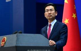 МИД Китая назвал протесты в Москве вмешательством Запада во внутренние дела России