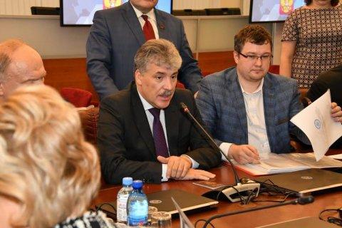 Павел Грудинин рассказал о плане действий после победы на выборах