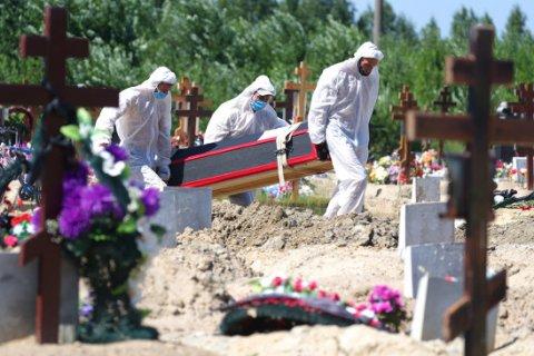 В России несколько дней подряд фиксируют рекорды смертности от COVID