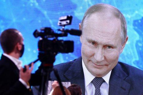 Опрос: Уровень одобрения деятельности Путина среди москвичей упал за 4 года с 68% до 40%