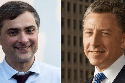 Сурков и Волкер обменялись «новаторскими подходами» по реализации Минских соглашений