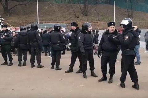 Московские коммунисты возмущены применением полицией силы против народа